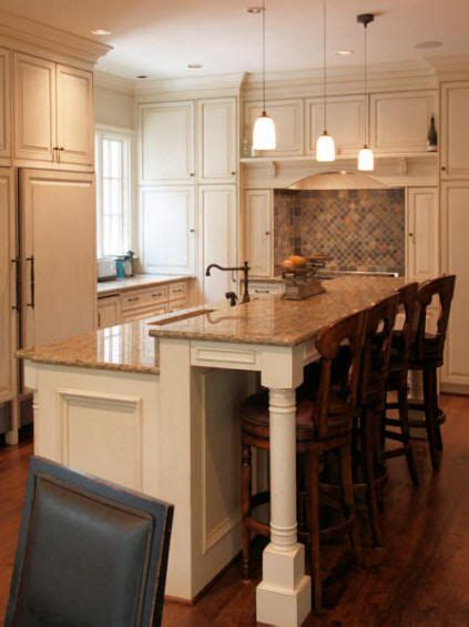 Kitchen Island Plans With Seating   WoodWorking Projects