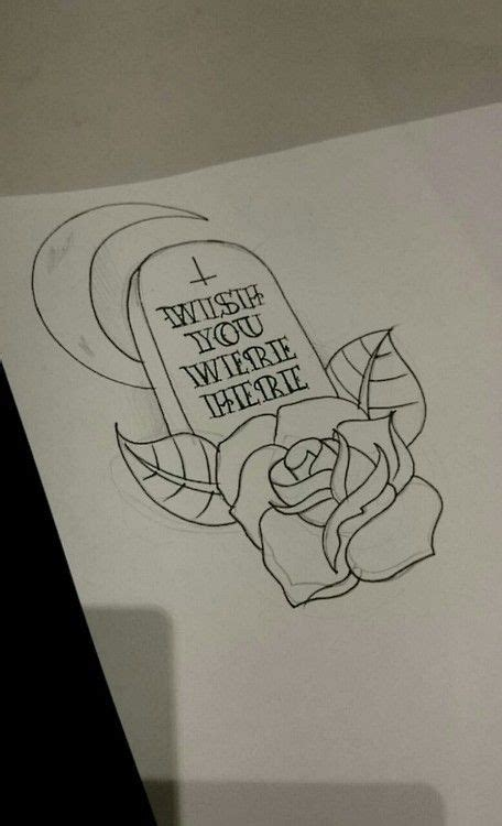 wish you were here tattoo designs wish you were here tombstone flash cool necklaces
