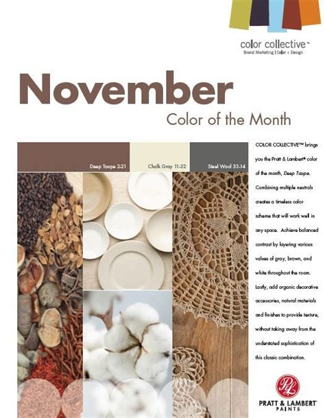 november 2013 a color palettes pinterest 11 best images about 2013 color of the month on pinterest