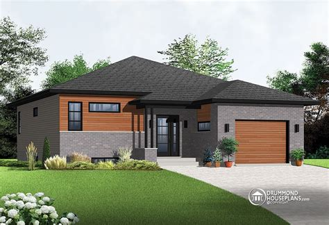 1500 Sq Ft Bungalow Floor Plans by Contemporary Single Storey Drummond House Plans Blog