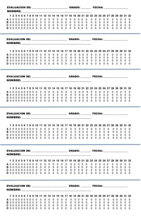 hoja de respuestas resuelta 6 grado 1 bimestre hoja de respuestas de 32 horizaontal