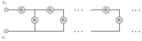 infinite resistors in series and parallel simple circuits brilliant math science wiki