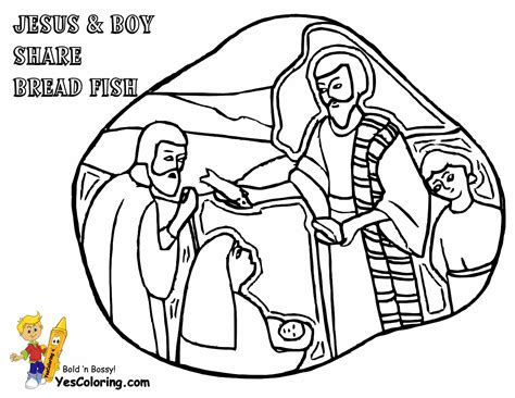 coloring pages jesus feeds the five thousand feeding the five thousand coloring pages coloring pages