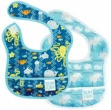 Boogy Baby Pipi Burping Cloth 3 Pack Raindrop 6