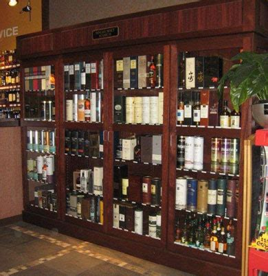 Liquor Store Security Display Cases Wine Store Security