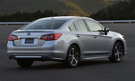 2015 Subaru Liberty Revealed Safer More Advanced