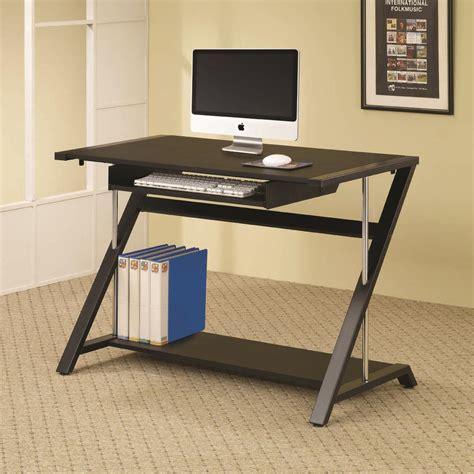 Coaster Desks Contemporary Computer Desk Dunk Bright Coaster Desk