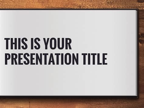 Free Powerpoint Template Or Google Slides Theme With Open Book Design Powerpoint Template Book Theme