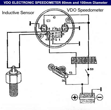 vdo voltage wiring diagram get free image about