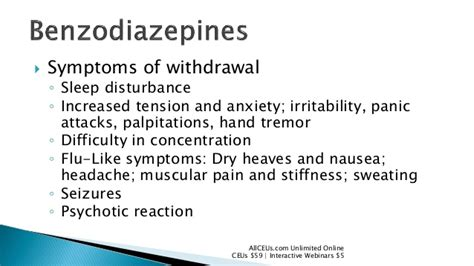 Flu Like Symptoms While Detoxing by Pharmacology Opiates And Benzos