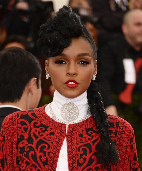how to do janelle monae hairstyles more pics of janelle monae long braided hairstyle 7 of 13