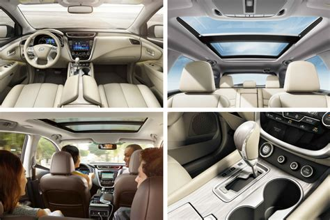 nissan murano interior 2017 how spacious is the 2017 nissan murano