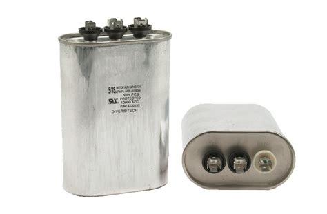 hvac capacitor motor run capacitors and start assist kits