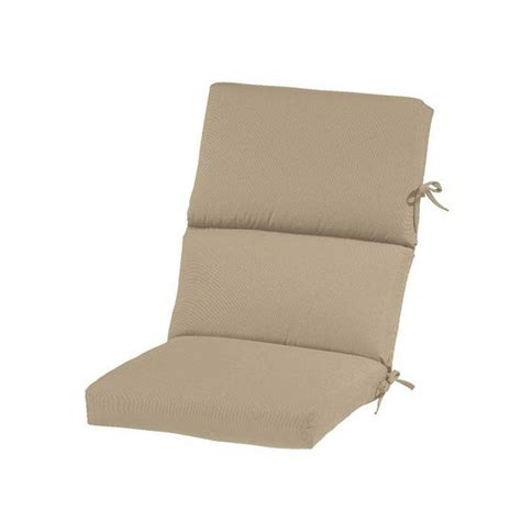 outdoor seat cushions home decorators collection sunbrella maxim beige
