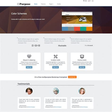 Mpurpose Free Responsive Ecommerce Website Template Free Responsive Ecommerce Website Templates