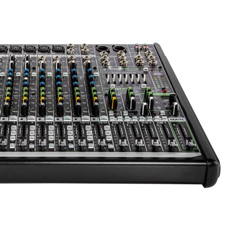 mackie console profxv2 series compact mixer series mackie