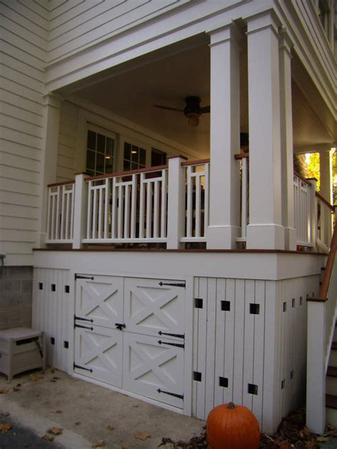 deck storage ideas pictures remodel  decor