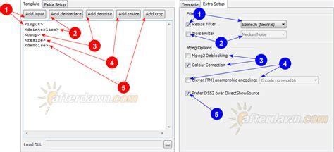 avs editor templates afterdawn encoding tutorial lesson 2 create
