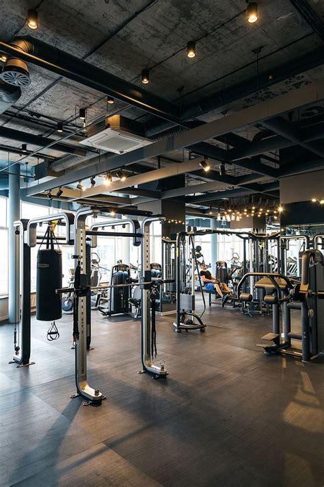 fitness club palestra  behance gym interior gym