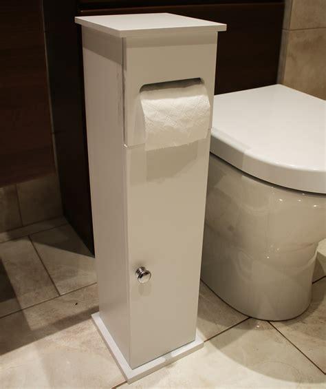 toilet paper holder cabinet wooden white toilet roll paper holder bathroom storage