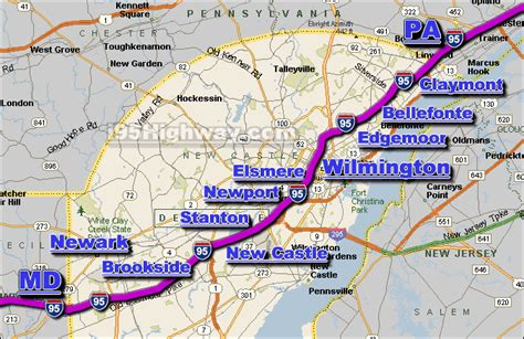 i 95 map i 95 route map pictures to pin on pinsdaddy