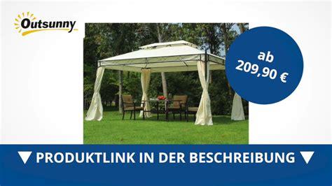 outsunny luxus pavillon gartenzelt pagode 3x4 m direkt - Pavillon Kaufen 3x4