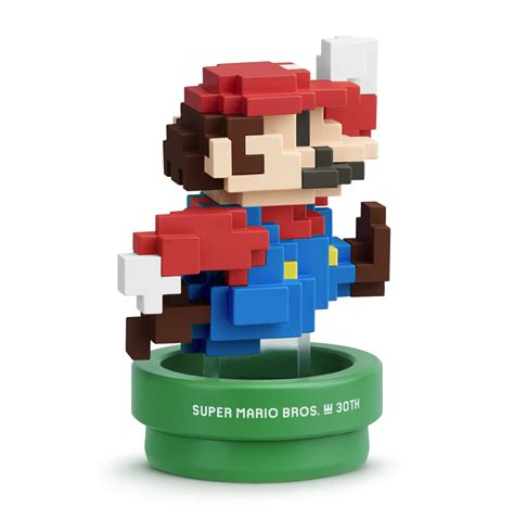 Figure Mario Bross Edition Original nintendo releasing two pixel style amiibo for mario s 30th