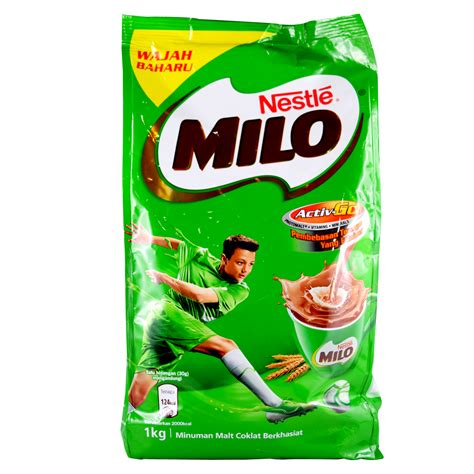 Milo Malaysia 400gr Active Go milo activ go softpack 1kg