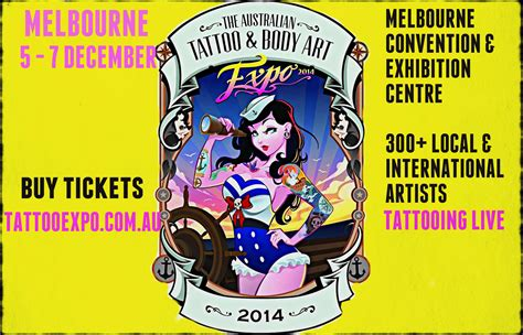 tattoo expo melbourne address the australian tattoo body art expo melbourne 2014