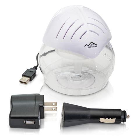 new comfort water air purifier new comfort white mini desktop water based air purifier