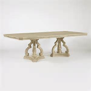 Pedestal Rectangle Dining Table Signature Design By Ortanique Rectangular Pedestal Dining Table Atg Stores