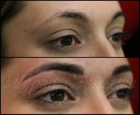 eyebrow tattoo teeth beautify parlor fashion view ana terzic s permanent eyebrow microblading before