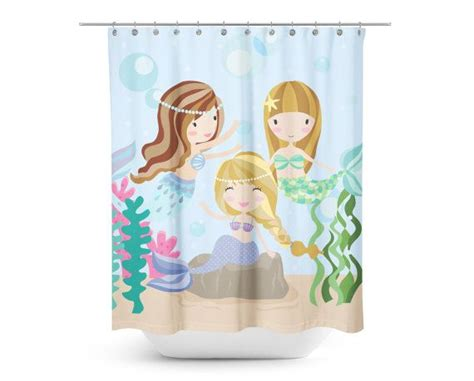 kids beach shower curtain best 25 mermaid shower curtain ideas on pinterest kids