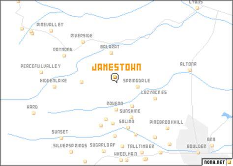 usa map jamestown jamestown united states usa map nona net