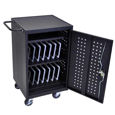 18 laptop chromebook computer charging cart from 540 00 all tablet chromebook charging stations by luxor options