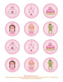 Cupcake Toppers Free Printable Princess Birthday Cupcake Toppers