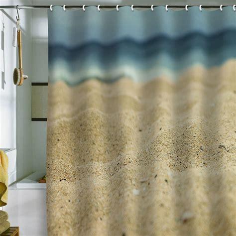 Beach theme shower curtains furniture ideas deltaangelgroup