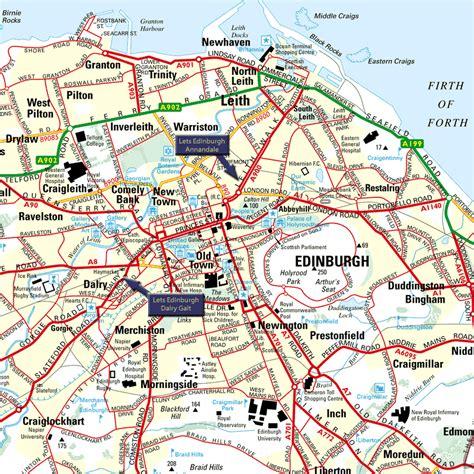 libro edinburgh mapping the city edinburgh map and edinburgh satellite image