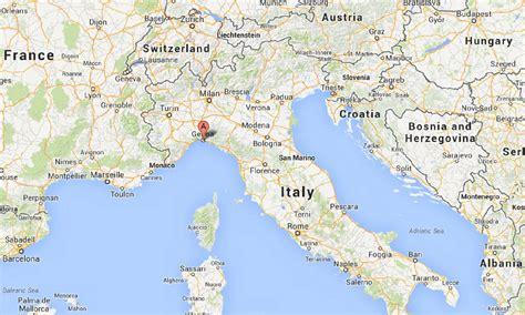 map of genoa italy genoa italy images