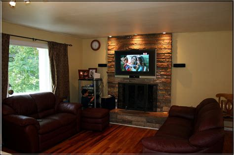 Fireplace Ideas With Tv by Decorating Ideas For Fireplace Walls House Experience