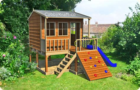 free cubby house designs tree cubby house designs house and home design