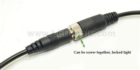 Panel Socket Size 10 25 Mm2 dc 25 lock design dc power cable with metal nut shenzhen