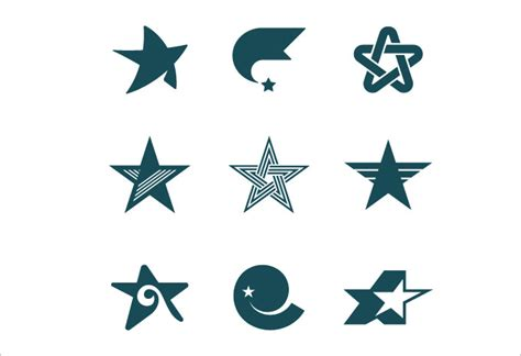 40 Star Logos Free Psd Logos Download Free Premium Templates Cool Logo Templates