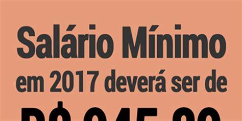 novo salrio mnimo regional rs 2016 salario minimo salrio mnimo 2017 valor do salrio autos post