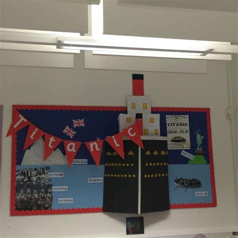 titanic class rooms pin by 恰恰 on 幼儿教育 titanic bulletin board and reading fair