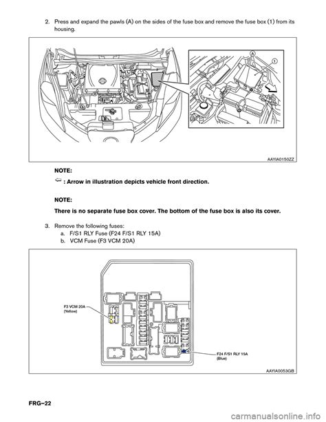 fuse box for 2015 nissan versa 30 wiring diagram images