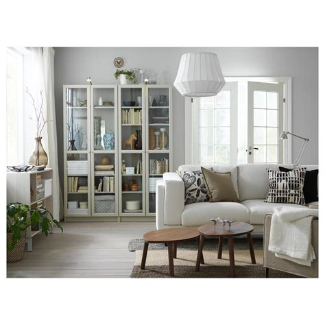 ikea bookcases with doors billy bookcase with doors beige 80x30x202 cm ikea