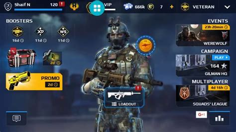 How To Get A Modern Modern Combat 5 Vip Level 7