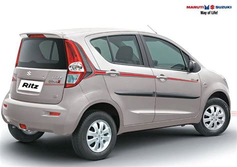 Suzuki Ritz Price Limited Edition Maruti Ritz Buzz Launched