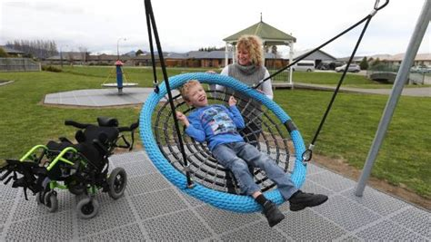 swings for special needs children blenheim gets special needs swing stuff co nz